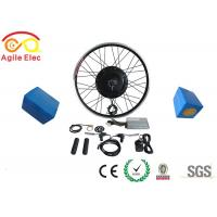Buy cheap High Speed Electric Bike Retrofit Kit , Electric Bike Rear Wheel Conversion Kit With Internal BMS from wholesalers