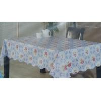 Buy cheap PVC Table cloth With Flannel Back from wholesalers