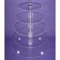 Buy cheap Acrylic Cupcake Display from wholesalers