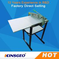 Buy cheap Wet Dry Textile Testing Equipment Fabric Sample Cutter Machine 150kg from wholesalers