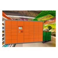 Buy cheap Shopping Mall Cabinet Rental Lockers , Bar Code Electronic Smart Storage Lockers from wholesalers
