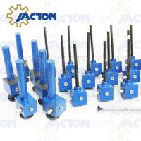 Buy cheap reputation for reliable JTC350 350kn adjustable screw thread jack with shaft and flange mounted from wholesalers