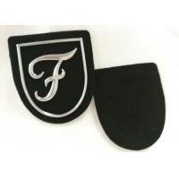 Buy cheap Promotional Silver Tpu Logo Raised Custom Pvc Patches No Minimum from wholesalers