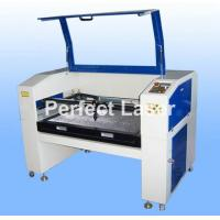 Buy cheap CCD Auto Recognition CO2 Laser Cutting Machine For Cloth / Shoe / Jeans / Carpet from wholesalers