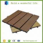 Buy cheap Waterproof DIY square wpc waterproof interlocking composite decking from wholesalers