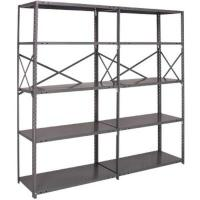 Buy cheap Wide Convenience Store Storage Shelving Racks Steel Storage Shelves Durable from wholesalers