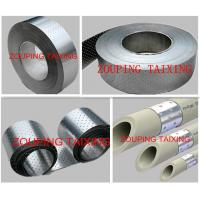 China perfored aluminium strip for ppr pipe on sale