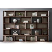 Buy cheap Home Study room Office Furniture American Walnut Wood Combined Bookcase with Shelves by Classic Nordic design product