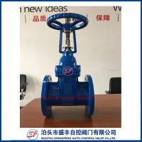 China ductile iron rising stem flanged gate valve on sale