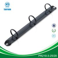 Buy cheap Gross/Matt black ring clip, 3 ring binder clip, file accessories, stationery clip from wholesalers