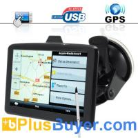 "Buy cheap The Explorer - 5"" Touchscreen Portable GPS Navigator + Multimedia Player from wholesalers"