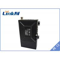 Buy cheap COFDM Video Wireless Transmitter 33dBm / 37dBm Adjustable With 12V/7800mAh Battery from wholesalers