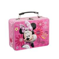 Buy cheap Disney Minnie Metal Lunch Tin Tote   Disney Jr. Mickey Mouse Lunch Tin Tote for Puzzle  Disney Mickey & Minnie Large product