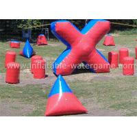 Buy cheap Professional Airtight Inflatable Paintball Bunker Field 3 - 7 Days Lead Time from wholesalers
