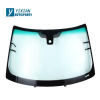 Buy cheap HOT SALE CAR SAFETY GLASS AUTO FRONT AND REAR WINSHIELD GLASS from wholesalers