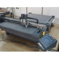 Buy cheap Cardboard paper box sample cutting table production cutter machine from wholesalers