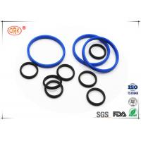 Buy cheap Bouncy Rubber O Rings Flat Washers / Gaskets 30 Degree - 90 Degree Hardness from wholesalers