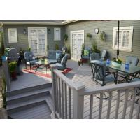 Buy cheap Wood Plastic Composite Low Maintenance Hollow Decking Flooring Board from wholesalers