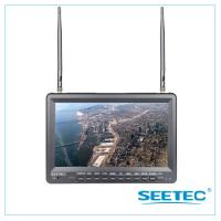 Buy cheap 10.1 inch FPV Monitor built in Battery and DVR Function and with Sun Hood from wholesalers