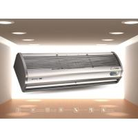 Buy cheap White Low Wind Resistance Electric Warm Air Curtain Heater 180cm / 150cm from wholesalers