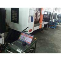 Buy cheap High Precision CNC Vertical Machining Center Linear Way Wider Saddle Base from wholesalers