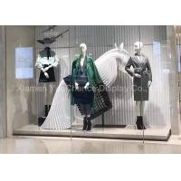 Buy cheap Special Design Window Display Decorations Fiberglass Horse Sculpture from wholesalers