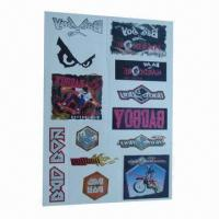 Buy cheap Removable Body Tattoo Stickers, Safe and Nontoxic, Easy to Apply and Remove product