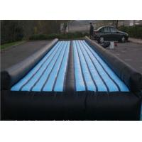 Buy cheap EN14960 Durable Inflatable Air Tumbling Track / Trampoline Tumble Track from wholesalers