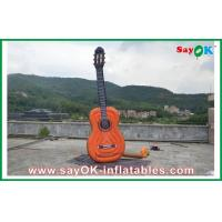 Buy cheap Oxford Cloth Inflatable Guitar , Music Festival Height 2 Meters from wholesalers