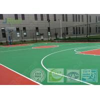 Buy cheap Comfortable Multipurpose Sports Court Flooring , Basketball Court Surfaces from wholesalers