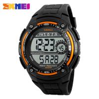 Buy cheap custom logo men watch SKMEI time clock wholesale slap watches from wholesalers