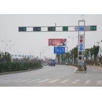 Buy cheap 6M Outdoor Automatic Traffic Light Signals , Road Traffic Signals And Signs from wholesalers