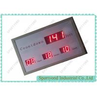 Buy cheap Large Led Digital Clock Display For Countdown Timer , Digits Display from wholesalers