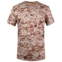 Buy cheap Camouflage desert t-shirts army T-shirt military T-shirt Round Collar/POLO from wholesalers