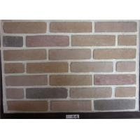 Buy cheap Wide Faux Stone Veneer , Exterior Faux Brick Wall Panels Cement Material from wholesalers