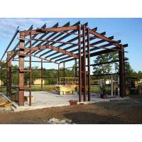 Buy cheap Shock Resistant Steel Building Frame , High Strength Steel Space Frame Structures from wholesalers