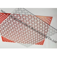 Buy cheap Powder Coated Slot Cold Rolled Plate Perforated Metal Mesh Screen from wholesalers