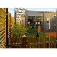 Buy cheap Recycled Small Modern Conex Solid Box Homes with Electrical Circuit from wholesalers