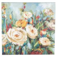 """Buy cheap Square 27""""x27"""" Wall Hanging Wooden Hand Painted Canvas In Colorful Finishing from wholesalers"""