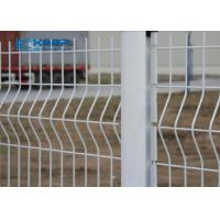Buy cheap Garden Welded Mesh Fencing 3D Curved PVC Coated Triangle Bending Custom Colors from wholesalers