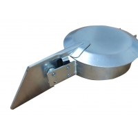 Buy cheap Rain Cap Stainless Steel Exhaust Parts For Power Generator Canopy Set from wholesalers