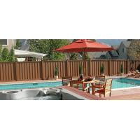 Buy cheap Waterproof Outdoor WPC Fence Panels With Anti - UV / Anti - Oxidation Chemical Additives from wholesalers