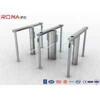 Buy cheap Pedestrain Control Fingerprint Automatic Swing Gates Turnstile Flexible Extendibility product
