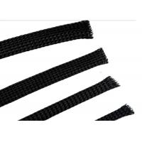 Buy cheap Soft PET Expandable Braided Sleeving For High Temperature Electric Wire Protection from wholesalers