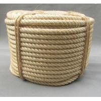 Buy cheap 3 strand twisted natural sisal rope for oil industry from wholesalers