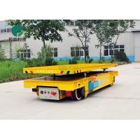 Buy cheap Warehouse Heavy Duty Motorized Material Handling Explosion-Proof Battery Electric Trolleys Cart On Rail from wholesalers