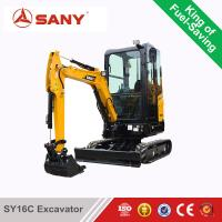 Buy cheap SANY SY16C 1.6 ton Mini Excavator For Sale Cheap from wholesalers