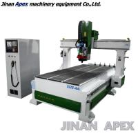 Buy cheap Jinan 1325 wood 3D CNC Router / China cheap price rotary 4 axis woodworking CNC machine from wholesalers
