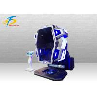 Buy cheap Theme Park Virtual Reality Equipment / Blue And Red 360 VR Chair from wholesalers