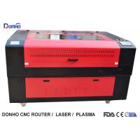 Buy cheap Red Protective Cover CO2 Laser Cutter , CNC Laser Cutting Machine For Acrylic from wholesalers